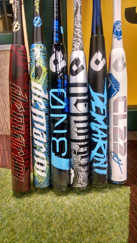 Decisions, decisions... 2015 DeMarini Slow Pitch Bats