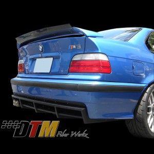 Beautiful BMW E36 M3 DTM Rear Diffuser