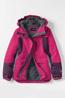 Girls Down Parka From Lands End Kids Stuff Pinterest