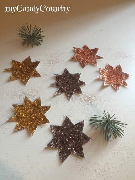 Come Fare Stelle Di Natale Riciclando Tealight Idea Creativa Per