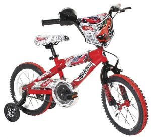 Dynacraft Hot Wheels Boys BMX Street/Dirt Bike with Hand Brake