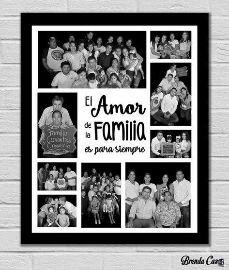 COLLAGE FAMILIA 12 | Cuadros para Familia