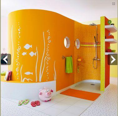 salle-de-bains-enfant-5 kids bathroom Pinterest