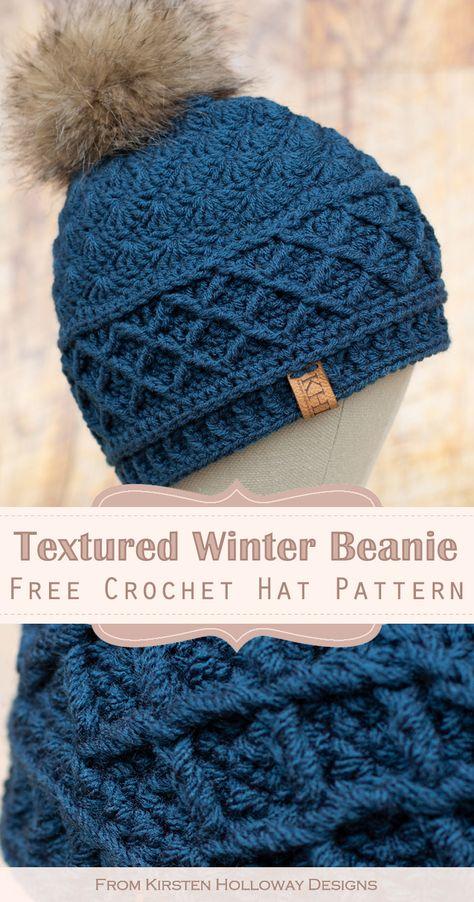 Knit Or Crochet, Crochet Scarves, Free Crochet, Crochet Adult Hat, Crochet Hats, Crochet Shawls And Wraps, Crochet Clothes, Knitted Hats, Crochet Beanie Pattern