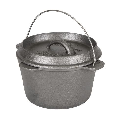CAST IRON DUTCH OVEN WITHOUT LEGS