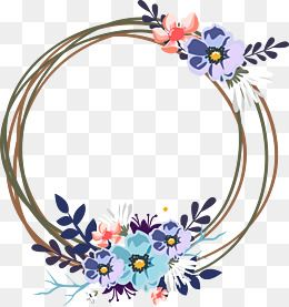 Vector Wedding Decorative Garland Convite Planos De Fundo Vetores
