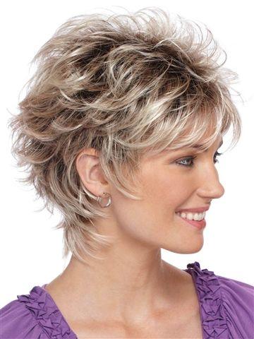 Christa Wig Ed Short Hair With Layers Medium Length Hair Styles Short Hair Styles