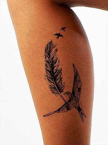 Disenos De Efigies Y Tatuajes Que Simbolizan Libertad Tatuajes Cuello Tatuajes Para Hombres Tatuajes Diminutos De Aves