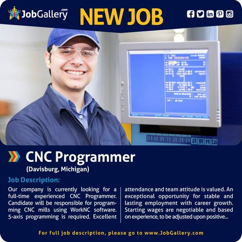 Cnc Setter Job Description  Cnc    Job Description