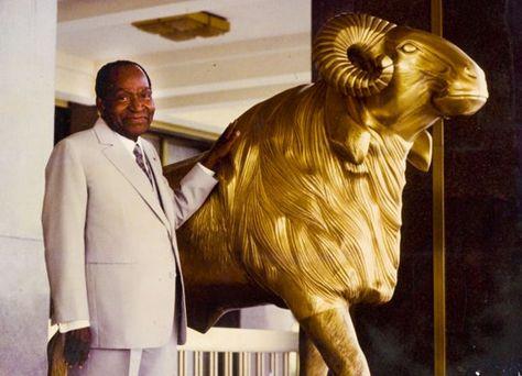 29c0d0186892f Félix Houphouet Boigny - Bwanyi signifiant bélier en baoulé (allégorie de  la force virile responsable du troupeau