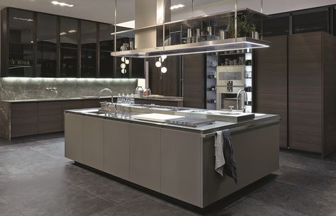 Fitted Kitchen With Island KALEA By CESAR ARREDAMENTI | Design Gian  Vittorio Plazzogna | Kitchen | Pinterest | Fitted Kitchens, Kitchens And  Kitchen Design