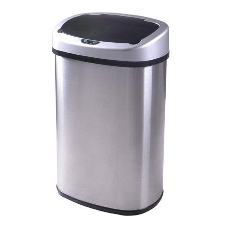 Home Kitchen Trash Cans Stainless Steel Kitchen Garbage Can