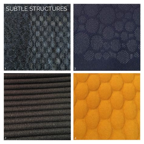 Functional Fabric Trends for Activewear A/W 20/21 Subtle structures