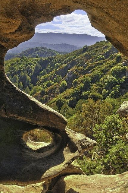 Castle Rock State Park, Saratoga Valley, Santa Cruz Mountains, Santa Clara, Santa Cruz and San Mateo Counties