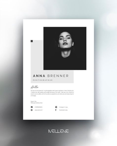Clean page, resume , self