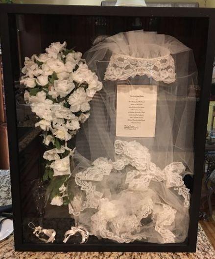 61 Ideas Wedding Vows Display Shadow Box In 2020 Wedding Shadow