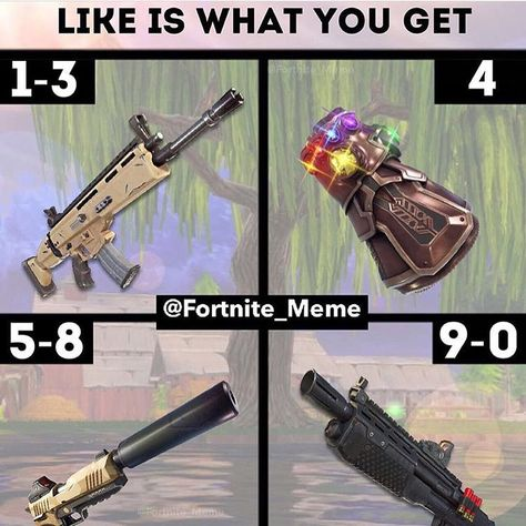 If you play Fortnite follow @dr._fortnite and @clubfortnite for more