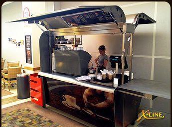 ✔ Large Coffee Cart : X-Line (on-site gerobak burger gerobak vintage gerobak minuman gerobak lipat gerobak dimsumgerobak palet