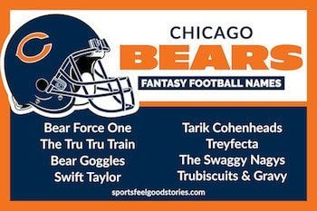 Best Fantasy Football Names Sorted By Team Sports Feel Good Stories In 2020 Cool Fantasy Football Names Fantasy Football Names Football Names