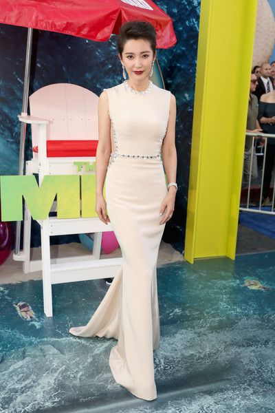 Li Bingbing attends Warner Bros. Pictures and Gravity Pictures' premiere of 'The Meg.'