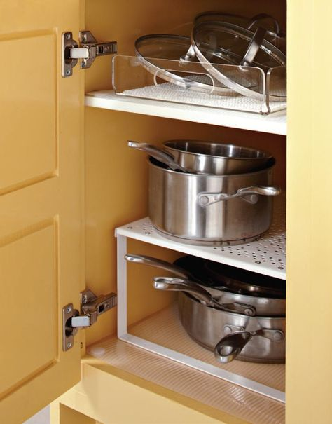 2XVariera Shelf Insert White Cupboard Organiser Small