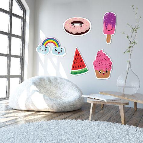 Motifs Decoratifs Fun Lovely Au Choix Dimensions 60 X 40 Cm Motif Decoratif Decoration Murale Decoration