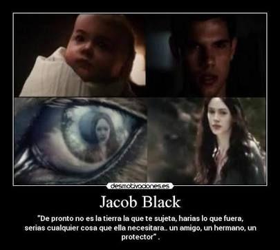 Pin De Twilight Saga En Jacob Renesmee Frases De