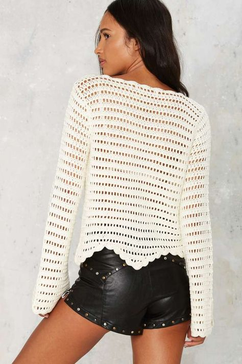The Mission Crochet Sweater - Sale: 40% Off | Sweaters | crochet ...
