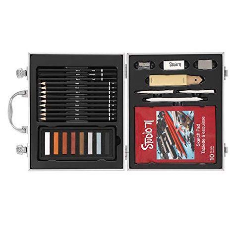 4mm Core Derwent Colorsoft Skintone Pencils 2300217 Metal Tin 6 Count