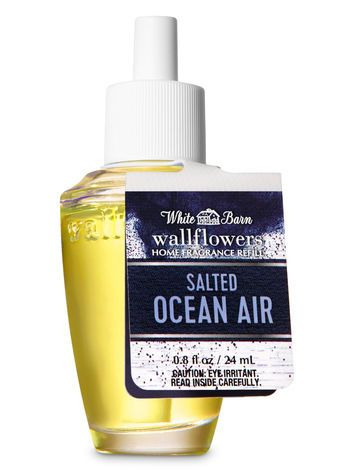 Salted Ocean Air Wallflowers Fragrance Refill Bath Body Works Bath And Body Works Air Freshener Refill Bath And Body