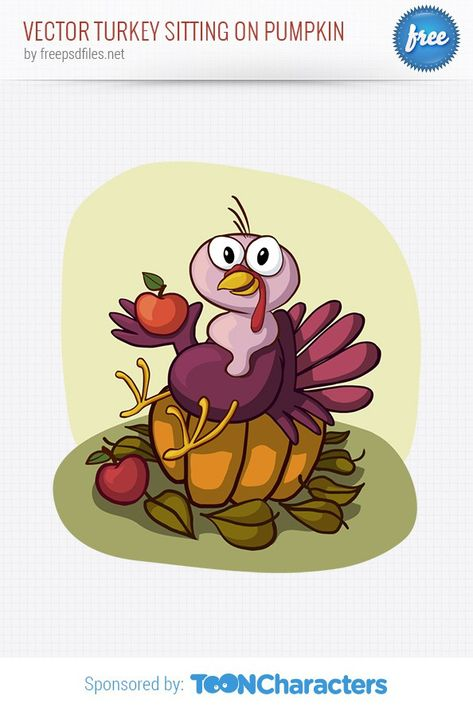 vector turkey holding pie thanksgiving thanksgiving vector pinterest characters