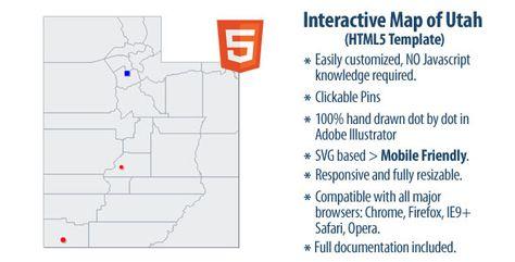 Interactive Map of Utah
