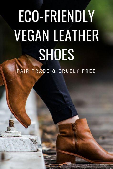 5 Vegan Fair Trade Shoe Brands Using Eco Friendly Faux Leather