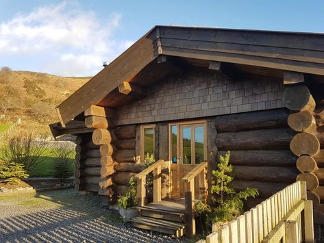 Newland Valley Log Cabins Are Situated On The Edge Of The Cumbrian