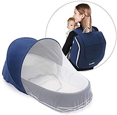 Forstart Baby Snuggle Nest Baby Lounger Baby Diaper Bag For Travel