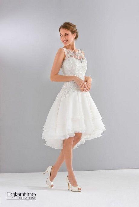 robe blanche courte mariage civil.Les 20
