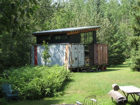Paul And Sarahs Shipping Container Get Away Decor Home