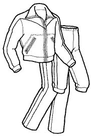 115 – Women's Cross Country or Jogging Suit Pattern | The Green Pepper, Inc.