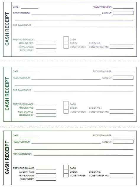 Cash Paid Receipt Alluring Cash Receipt Template  Pdf Form To Download And Fill Out  Online .