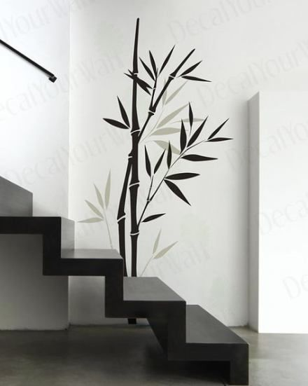 Wall Stickers Art Vinyl Decals 41 Ideas Wall Decals Living Room Bamboo Wall Decor Trendy Wall Art