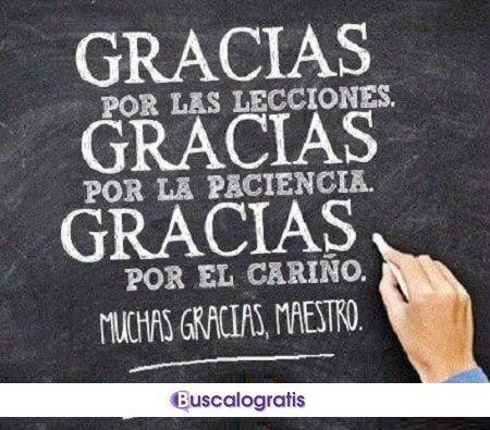 Frases De Gratitud Para Un Maestro Frases De