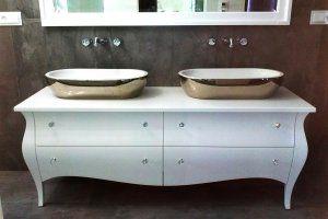Komoda Wzór I Do łazienki Podwójna Wnętrza łazienka I