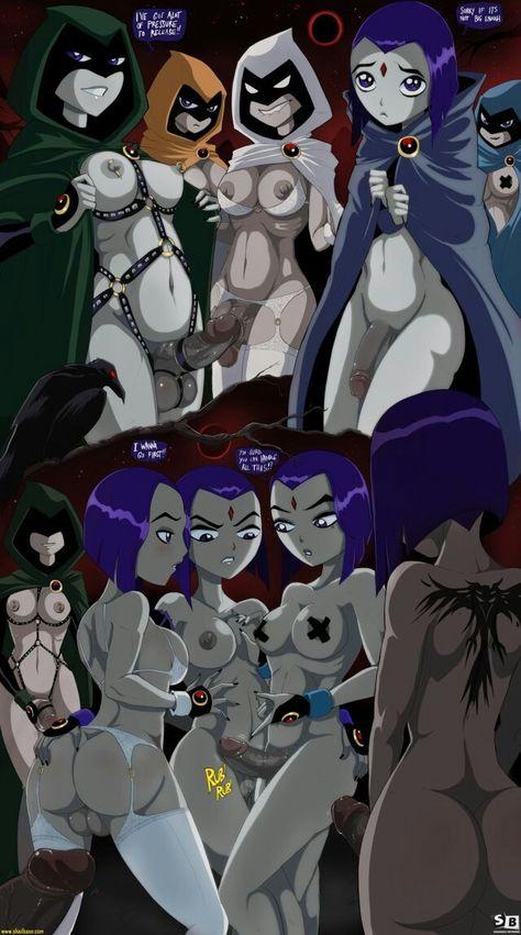 Teen Titans Raven komiks porno