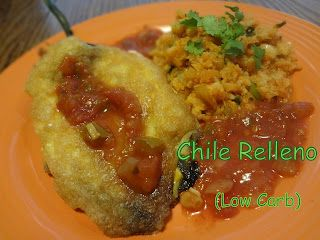 Low Carb Chili Rellenos