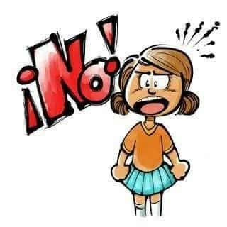 No A La Violencia De Genero No A La Violencia Infantil No A Cualquier Tipo De Violencia No Es No Cartoon Pics Feminist Art Cartoon