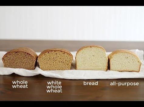Youtube ماهو احسن دقيق للخبز تعريف أنواع الدقيق في ألمانيا German Flour Types 101