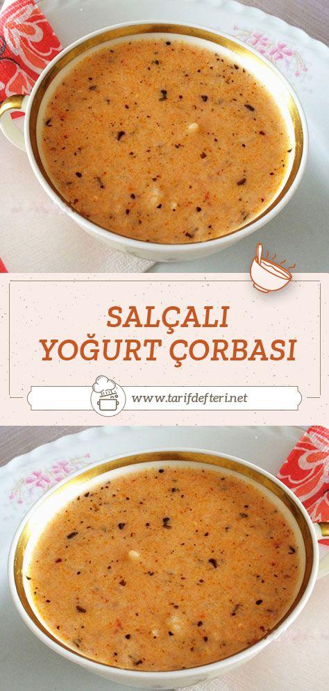 Salcali Yogurt Corbasi Tarifi Tarif Defteri Yemek Tarifi Yemek Tarifleri Yemek Pornosu Yemek