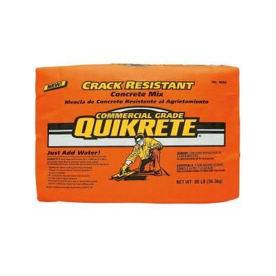 Quikrete 20 Lb Hydraulic Water Stop Cement Concrete Mix 112620 The Home Depot Concrete Mixes Repair Cracked Concrete Concrete