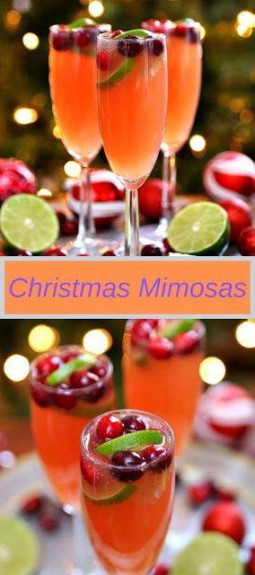 Christmas Drinks 2020 Christmas Mimosas in 2020 | Christmas drinks, Christmas cocktails