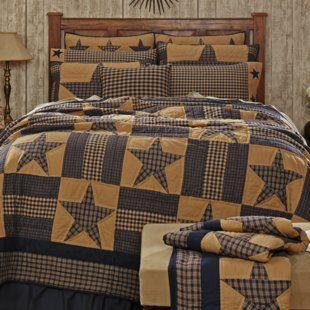 Loon Peak Alcantar Star Quilt Wayfair Single Quilt Quilt Sizes Reversible Quilt